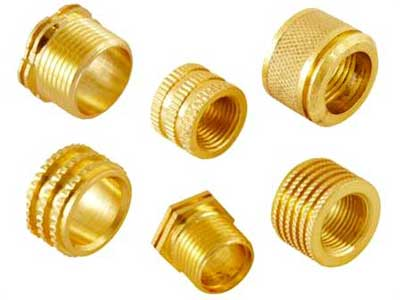 Brass Pipe Moulding Inserts