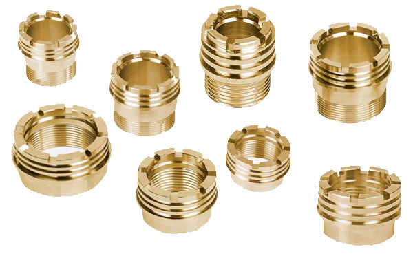 Brass Threaded Inserts from Alka Brass Inserts
