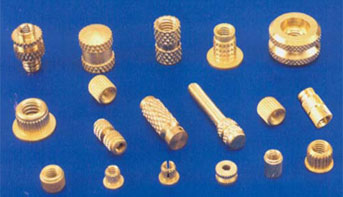 BRASS MOULDING INSERTS